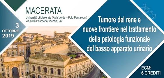 Tumore del rene e nuove frontiere nel trattamento della patologia funzionale del basso apparato urinario